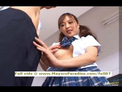 Miyu Hoshino from idol69 asian schoolgirl enjoys getting a hard fucked