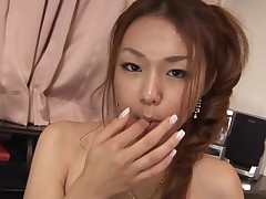 Have fun staring at beautiful Asian chick getting banged hot